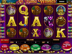 Ali Baba Wishes - iSoftBet