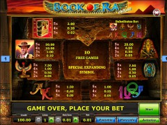 Book of Ra Deluxe slotgames77.com SGS Universal 2/5