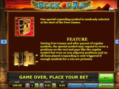 Book of Ra Deluxe slotgames77.com SGS Universal 3/5