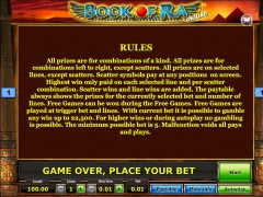 Book of Ra Deluxe slotgames77.com SGS Universal 4/5