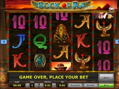 Book of Ra Deluxe slotgames77.com SGS Universal 5/5