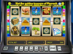 Golden Treasure of Pharaoh slotgames77.com Novoline 1/5