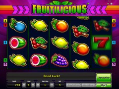 Fruitilicious slotgames77.com Greentube 5/5