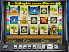 Golden Treasure of Pharaoh slotgames77.com Gaminator 1/5
