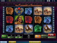 The Pyramid of Ramesses slotgames77.com Playtech 1/5