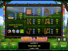 Rumble in the Jungle slotgames77.com Gaminator 2/5