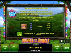 Rumble in the Jungle slotgames77.com Gaminator 3/5