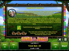Rumble in the Jungle slotgames77.com Gaminator 4/5