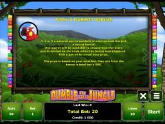 Rumble in the Jungle slotgames77.com Gaminator 5/5