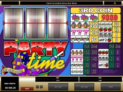 Party Time slotgames77.com Microgaming 2/5