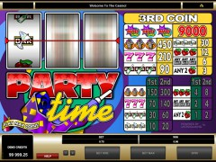 Party Time slotgames77.com Microgaming 3/5