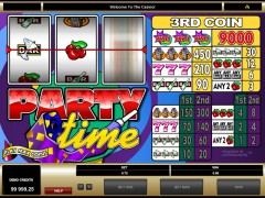 Party Time slotgames77.com Microgaming 4/5