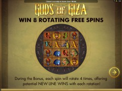 Gods Of Giza slotgames77.com Microgaming 1/5