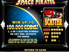 Space Pirates slotgames77.com iSoftBet 2/5