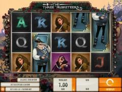 The Three Musketeers slotgames77.com Quickspin 1/5