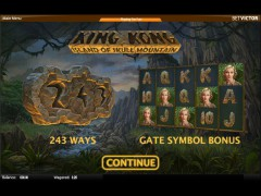 King Kong - Island of Skull Mountain slotgames77.com Quickspin 1/5