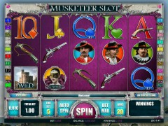 Musketeers slotgames77.com iSoftBet 1/5