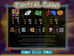 Crystal Gems slotgames77.com 2by2 Gaming 2/5