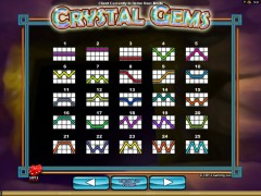 Crystal Gems slotgames77.com 2by2 Gaming 5/5