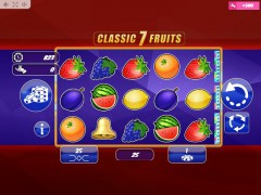 Classic7Fruits slotgames77.com MrSlotty 1/5