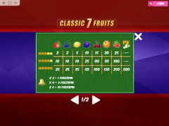 Classic7Fruits slotgames77.com MrSlotty 5/5
