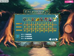 Enchanted 7s slotgames77.com MrSlotty 5/5