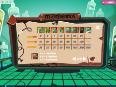 Monsterinos slotgames77.com MrSlotty 5/5