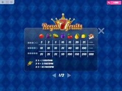 Royal7Fruits slotgames77.com MrSlotty 5/5