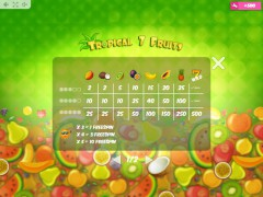 Tropical7Fruits slotgames77.com MrSlotty 5/5