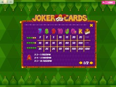 Joker Cards slotgames77.com MrSlotty 5/5