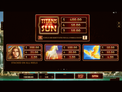 Titans of the Sun Theia slotgames77.com Microgaming 4/5