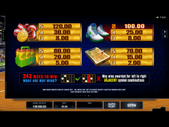 Basketball Star slotgames77.com Microgaming 5/5