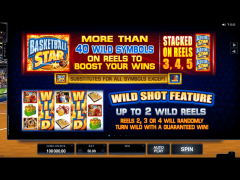 Basketball Star slotgames77.com Quickfire 2/5
