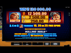 Basketball Star slotgames77.com Quickfire 3/5