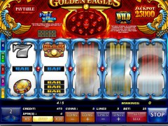 Golden Eagles slotgames77.com iSoftBet 2/5