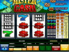 Mr Cash Bonus - iSoftBet